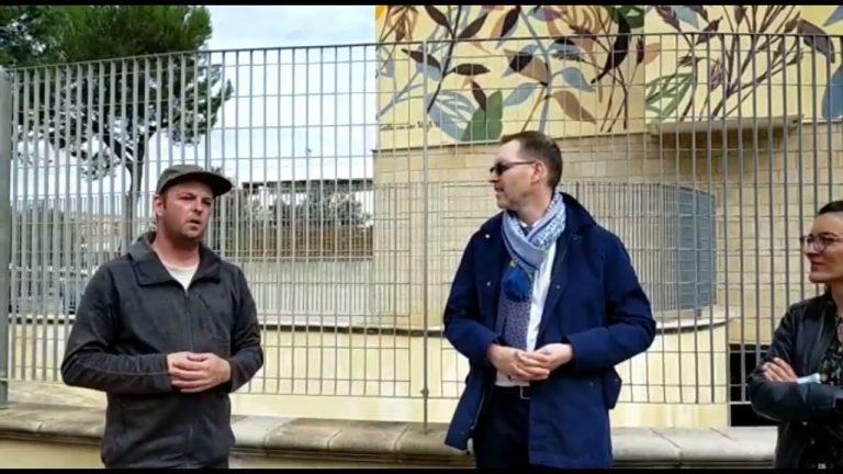 A Lecce la street art dell'olandese Collin Van Der Sluiijs